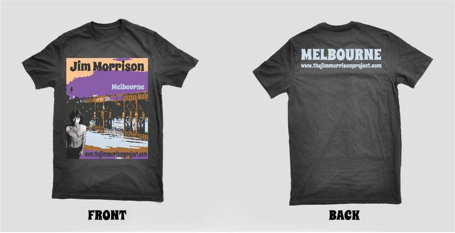 Penyertaan Peraduan #                                        53                                      untuk                                         T-shirt Design for www.TheJimMorrisonProject.com