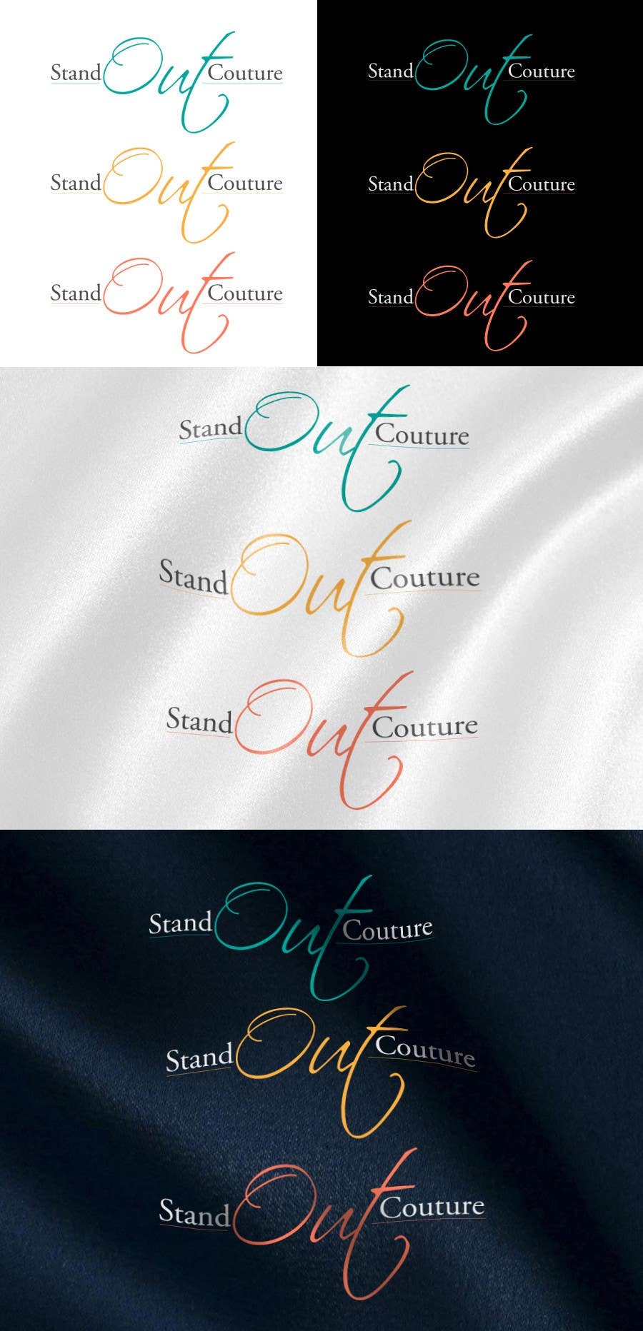 #315 for Creative and elegant LOGO for a clothing brand by manish997