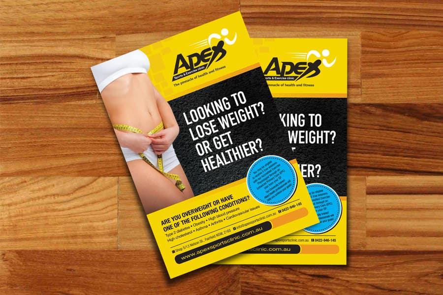 Inscrição nº                                         24                                      do Concurso para                                         Design a small flyer for weight loss to leave at shop counters