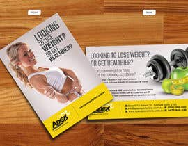 #47 para Design a small flyer for weight loss to leave at shop counters por decorusads
