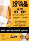 Graphic Design Inscrição do Concurso Nº43 para Design a small flyer for weight loss to leave at shop counters