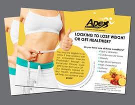 #21 para Design a small flyer for weight loss to leave at shop counters por gdinfinity