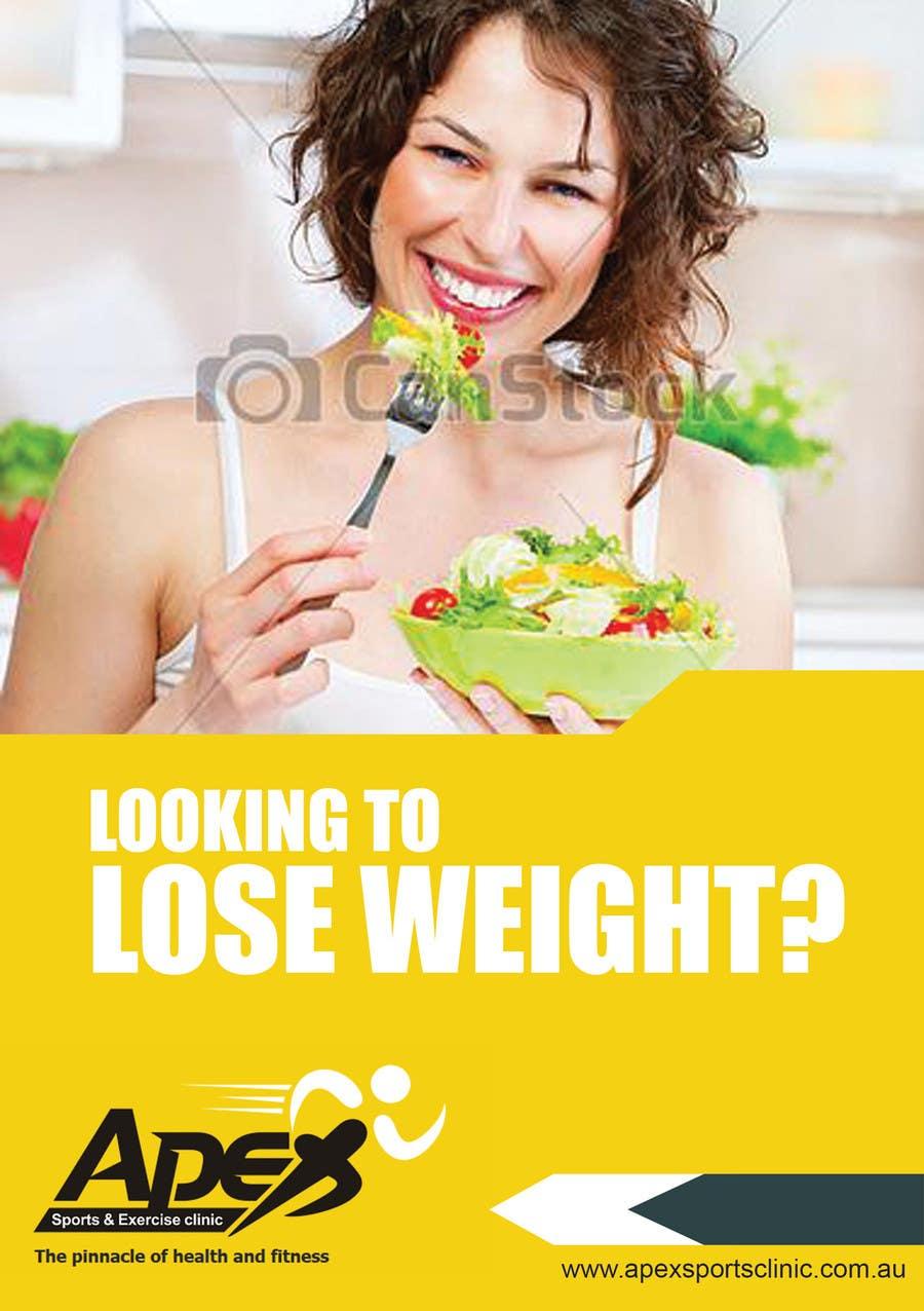 Inscrição nº                                         13                                      do Concurso para                                         Design a small flyer for weight loss to leave at shop counters
