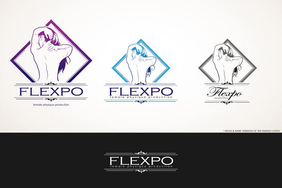 Contest Entry #122 for Logo Design for Flexpo Productions - Feminine Muscular Athletes