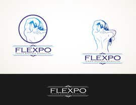 #158 untuk Logo Design for Flexpo Productions - Feminine Muscular Athletes oleh Glukowze
