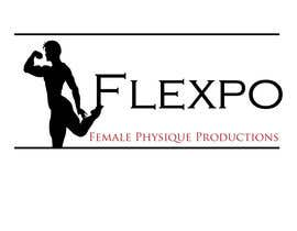 #128 untuk Logo Design for Flexpo Productions - Feminine Muscular Athletes oleh stephen66