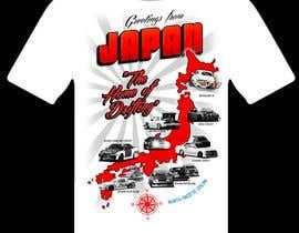 "#15 para Design a ""greetings from Japan"" design for car drifting company por focused"