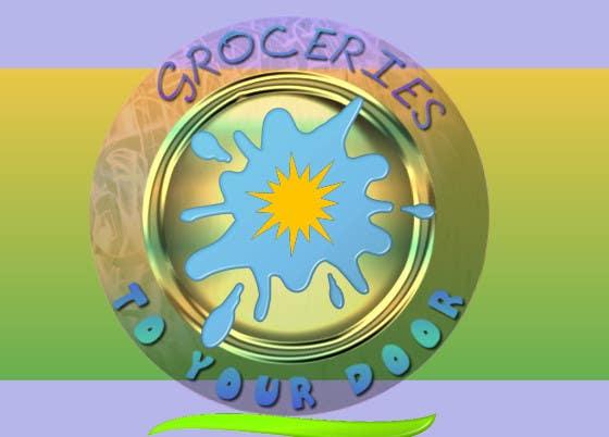 Entri Kontes #344 untukLogo Design for Groceries To Your Door