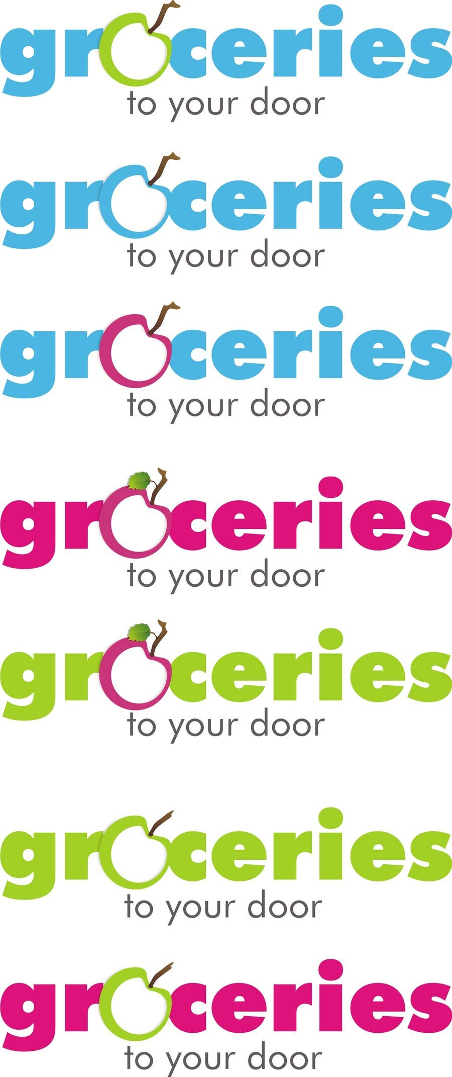 Contest Entry #                                        185                                      for                                         Logo Design for Groceries To Your Door