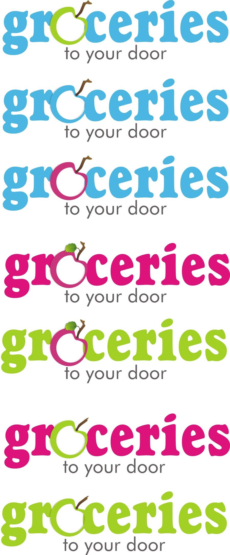 Contest Entry #                                        189                                      for                                         Logo Design for Groceries To Your Door