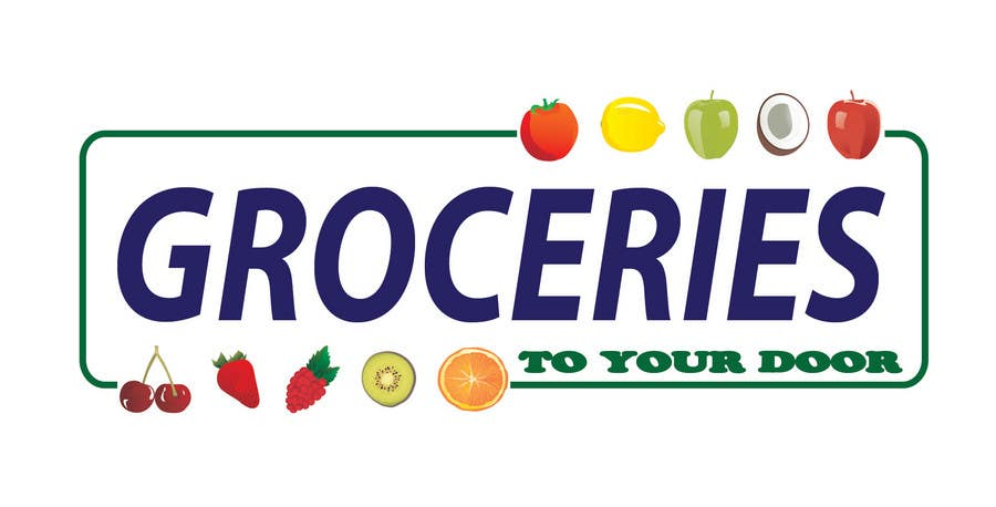 Entri Kontes #204 untukLogo Design for Groceries To Your Door