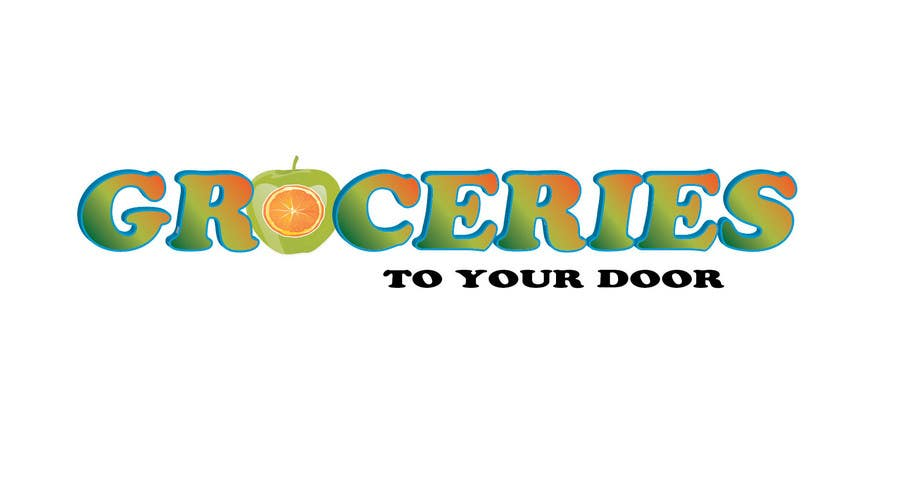 Entri Kontes #203 untukLogo Design for Groceries To Your Door