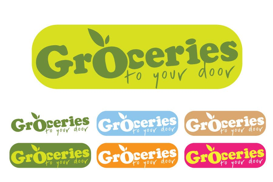 Entri Kontes #256 untukLogo Design for Groceries To Your Door