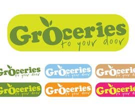 #256 dla Logo Design for Groceries To Your Door przez jtmarechal