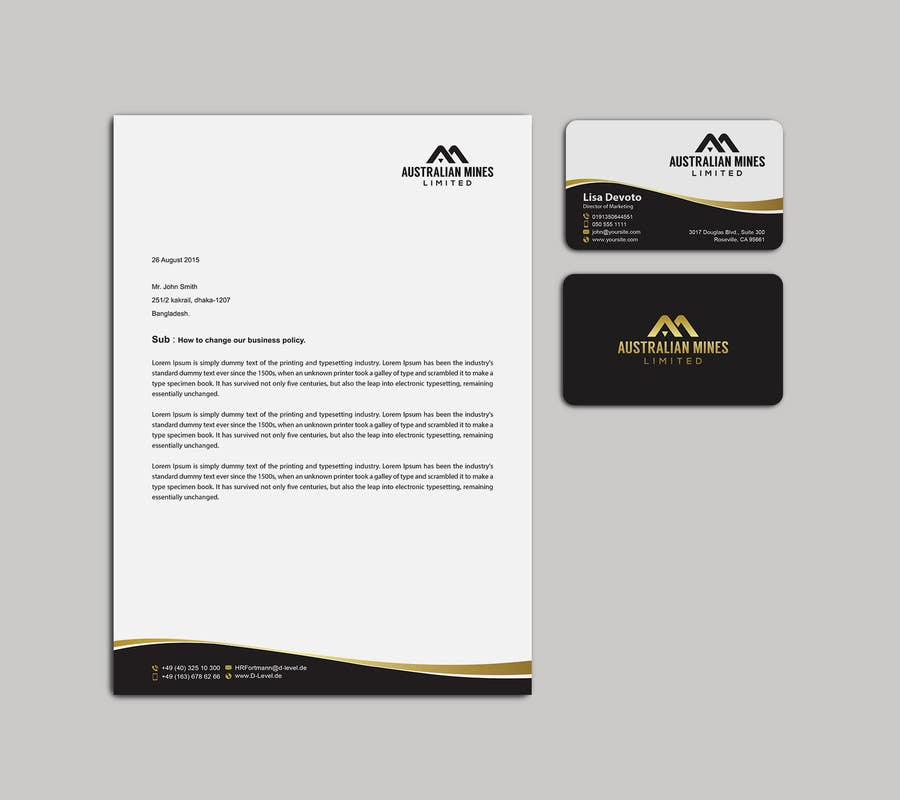 Design some business cards power point presentation for Business card presentation template