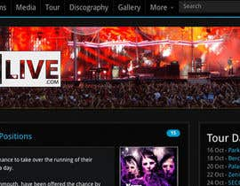 #10 для Graphic Design for Muselive.com от onefromthemass