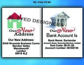 Nro 1 kilpailuun Design a Flyer - Change company name and bank details käyttäjältä sohaib7700