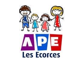 nº 17 pour Logo pour l'association des parents d'élèves des Ecorces (APE) par CiroDavid