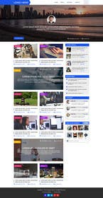 Image of                             Blog design - only graphic mocku...