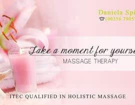 nº 24 pour Deisgn Business Cards for Massage Therapy par deaconucorina