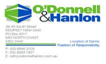 Graphic Design Contest Entry #106 for Stationery Design for O'Donnell & Hanlon Pty Ltd