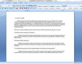 Caroline142 tarafından Remove Plagrism from Thesis Report için no 9