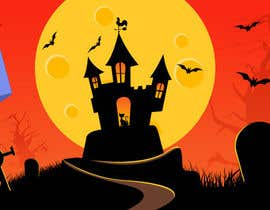 #55 para Design a Halloween Sale Banner por redundantdesigns