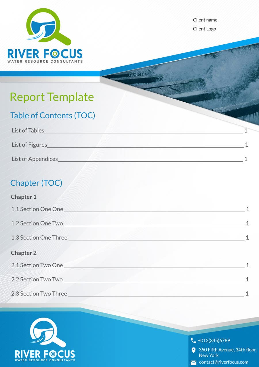 design cover page and word report template lancer 4 for design cover page and word report template by doomshellsl