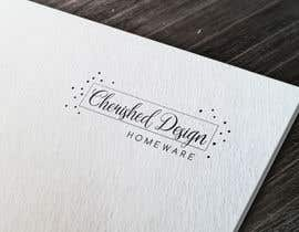 nº 478 pour Design a Logo - Cherished Homewares par LadyLaszarus