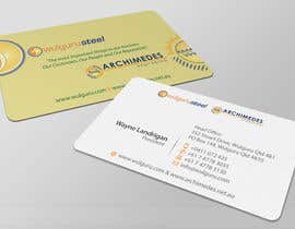 #105 untuk Business Card Design for Wulguru Group - incorporates Wulguru Steel & Archimedes Engineering oleh artleo