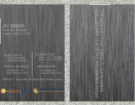 #35 untuk Business Card Design for Wulguru Group - incorporates Wulguru Steel & Archimedes Engineering oleh jiten187