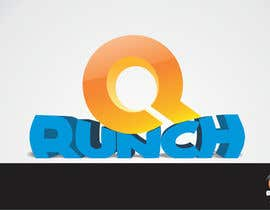 nº 329 pour Logo Design for Qrunch par StefanMoisac