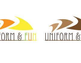 #8 untuk Design a Logo for UNIFORMS AND FUN oleh DeeJay19