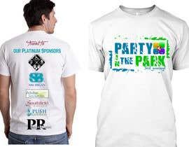 jojohf tarafından Design a T-Shirt for Party in the Park için no 16