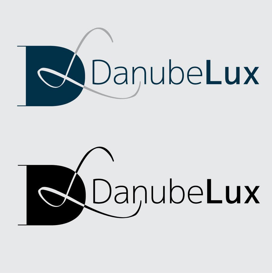 Proposition n°12 du concours Logo design for a new company selling luxury: DanubeLux.