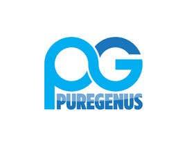 #123 for Want to be smarter?  PUREGENUS Logo Design af vasked71