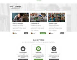 #7 for WordPress Template for a School Website by adixsoft