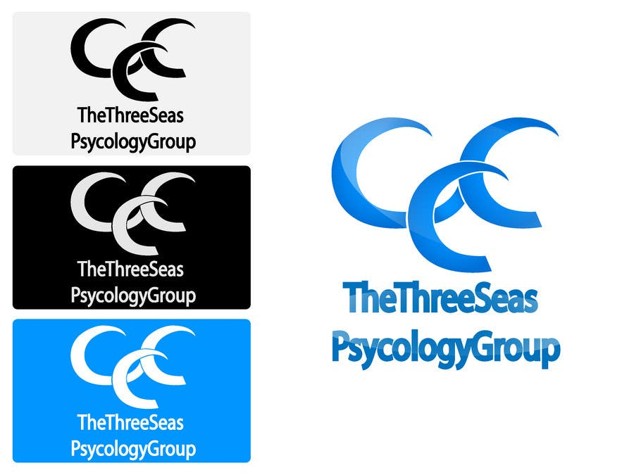 Contest Entry #                                        6                                      for                                         Logo Design for The Three Seas Psychology Group