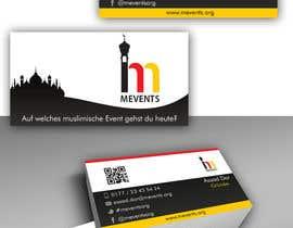 #78 untuk Business Card Design for Mevents (with letterhead optional) oleh dianadaian