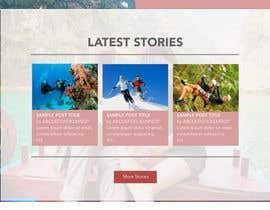 nº 16 pour Design a Website Mockup par iamcz