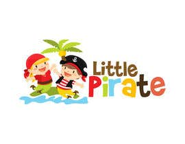#47 untuk Logo Design for a baby shop - Nice pirates with a Cartoon style, fun and modern oleh marumaruya2010