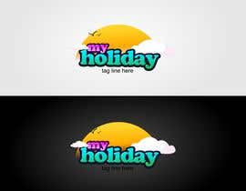 #76 Logo Design for My Holiday részére colourz által