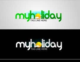 #65 for Logo Design for My Holiday by colourz