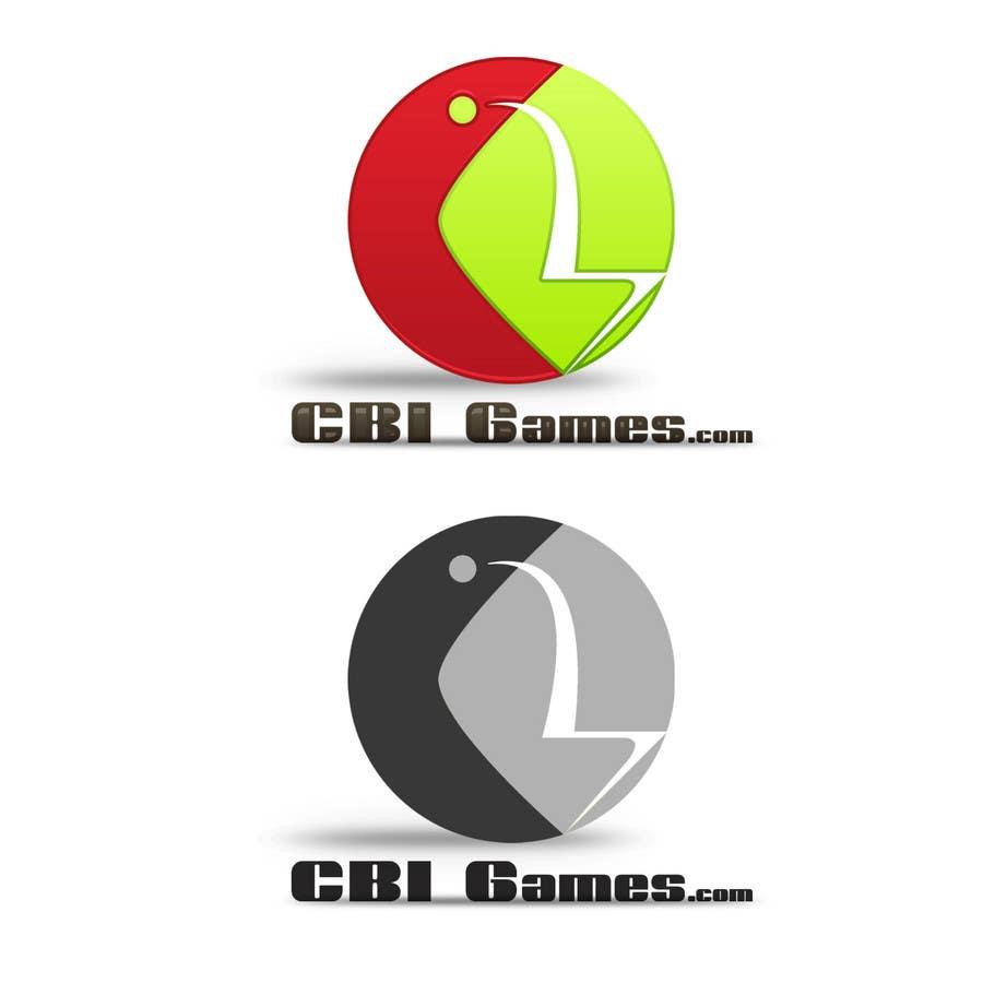 """Intrarea #127 pentru concursul """"Logo Design for CBI-Games.com"""""""