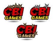 Graphic Design Inscrição do Concurso Nº152 para Logo Design for CBI-Games.com