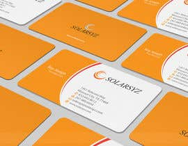 #130 para Business Card Design for SolarSyz por artleo