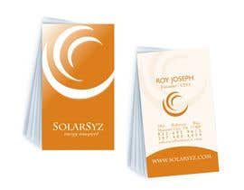 #124 para Business Card Design for SolarSyz por kkmberry