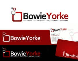 #110 para Logo Design for a law firm: Bowie Yorke por Anamh