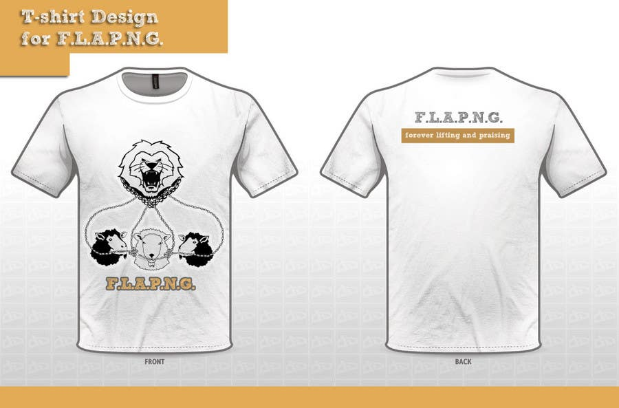 Inscrição nº                                         40                                      do Concurso para                                         T-shirt Design for F.L.A.P.N.G. (forever lifting and praising)