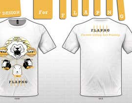 #86 para T-shirt Design for F.L.A.P.N.G. (forever lifting and praising) por Belva1993